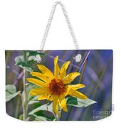 Earth Day Wild Flower  Weekender Tote Bag