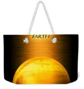 Earth Elemental Sphere Weekender Tote Bag