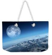 Earth Icy Ocean Aerial View Weekender Tote Bag
