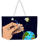 Earth Like An Inflatable Balloon Weekender Tote Bag