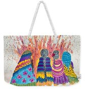 Earth Mothers - Feeding  The Fire Weekender Tote Bag