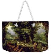 Earth Or The Earthly Paradise Weekender Tote Bag by Jan the Elder Brueghel