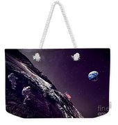 Earth Rise On The Moon Weekender Tote Bag