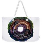 Earth Slice Weekender Tote Bag