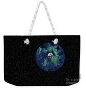 Earth To The Moon Weekender Tote Bag