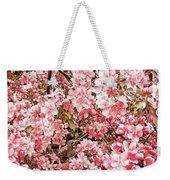 Earth Tones Apple Blossoms  Weekender Tote Bag