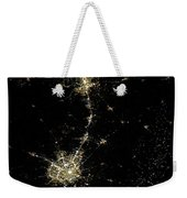 Earthbound Nebulae Weekender Tote Bag