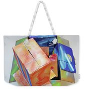 Earthquake 2 Weekender Tote Bag