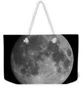 Earth's Moon Phase Full Moon Weekender Tote Bag