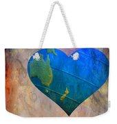 Earthy Heart Weekender Tote Bag