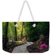 Earyl Morning Walk Through Honor Heights Park Weekender Tote Bag