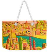 East And West Weekender Tote Bag
