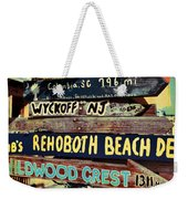 East Coasters Weekender Tote Bag