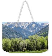 East Fork Mountain Valley Weekender Tote Bag