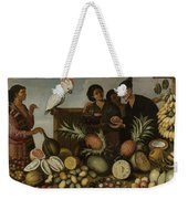 East Indian Market Stall In Batavia, Albert Eckhout, 1640 - 1666 Weekender Tote Bag