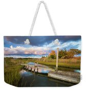East Moriches Reflections Weekender Tote Bag