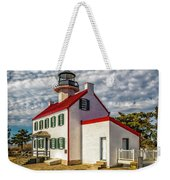 East Point Light -renovated Weekender Tote Bag