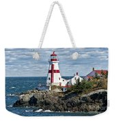 East Quoddy Lighthouse Weekender Tote Bag