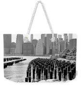 East River #1 Weekender Tote Bag