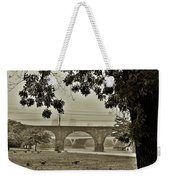 East River Drive - Philadelphia Weekender Tote Bag by Bill Cannon
