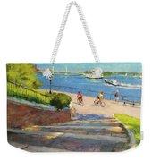 East River From Carl Schurz Park Weekender Tote Bag