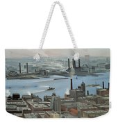 East River From Shelton Hotel Weekender Tote Bag