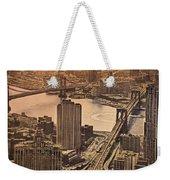 East River View Weekender Tote Bag