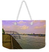 East River View Looking North Weekender Tote Bag