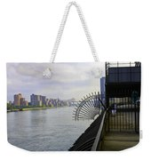 East River View Looking South Weekender Tote Bag