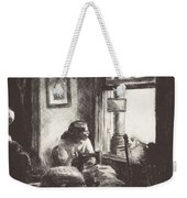 East Side Interior Weekender Tote Bag