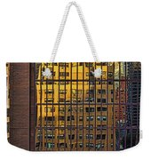 East Side Reflection Weekender Tote Bag