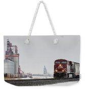 Eastbound Empties Weekender Tote Bag