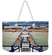 Eastbourne Pier Weekender Tote Bag