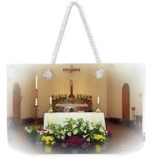 Easter Alter Weekender Tote Bag