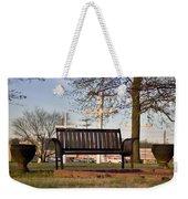 Easter Bench Weekender Tote Bag