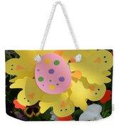 Easter Chick Decoration Weekender Tote Bag