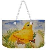 Easter Chick Weekender Tote Bag