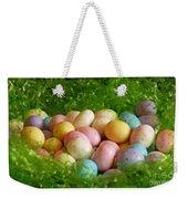 Easter Egg Nest Weekender Tote Bag