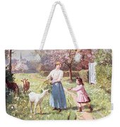Easter Eggs In The Country Weekender Tote Bag