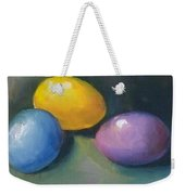 Easter Eggs No. 1 Weekender Tote Bag