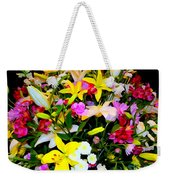 Easter Flowers Weekender Tote Bag