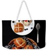 Easter Hot Cross Buns  Weekender Tote Bag