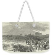 Easter Hunt With The Royal Stag Hounds  The Meet At Stoke Common Weekender Tote Bag