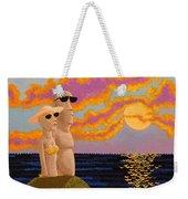 Easter Island Sunset Weekender Tote Bag