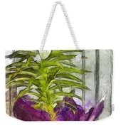 Easter Lily And Doll Weekender Tote Bag