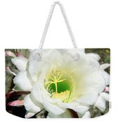 Easter Lily Cactus Flower Weekender Tote Bag