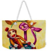 Easter Made Of Sockies Weekender Tote Bag