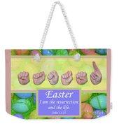 Easter Weekender Tote Bag