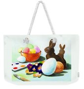 Easter Morning Still Life Weekender Tote Bag