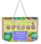 Easter Spanish Weekender Tote Bag